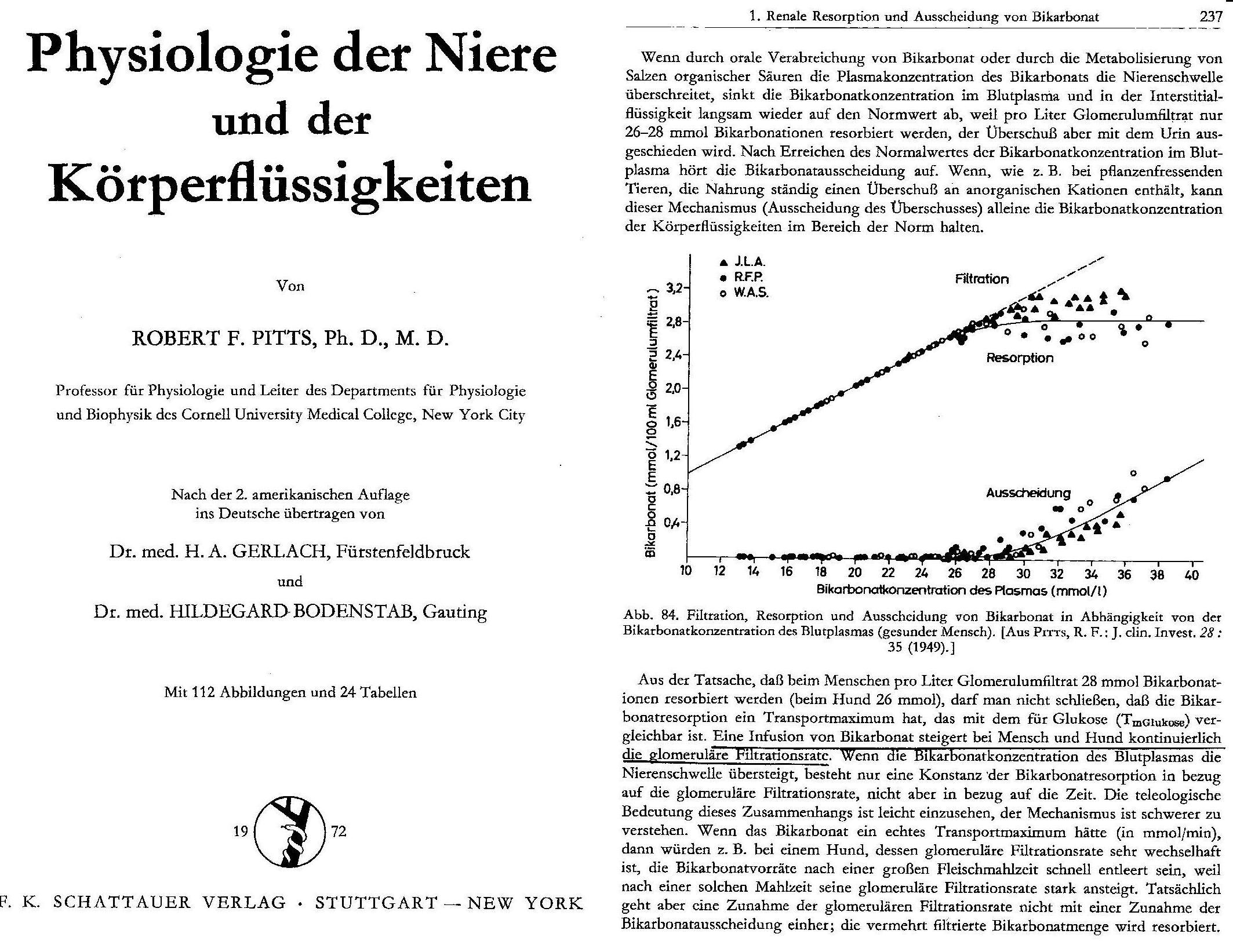 Das Bikarbonat-Mangel-Syndrom (BDS): Professor Dr. med. Klaus F. Kopp